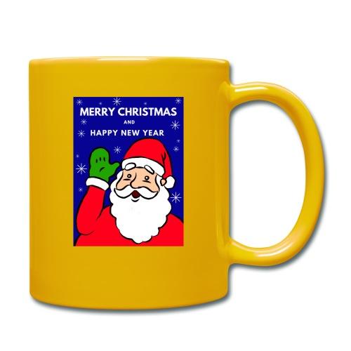 Christmas Holiday Santa Mug 1 - Taza de un color