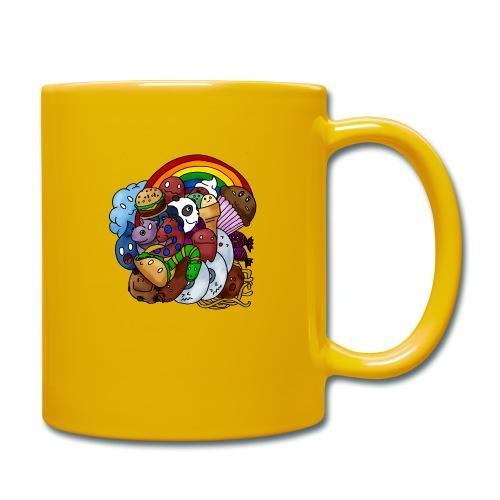 Happy Colors - Tasse einfarbig
