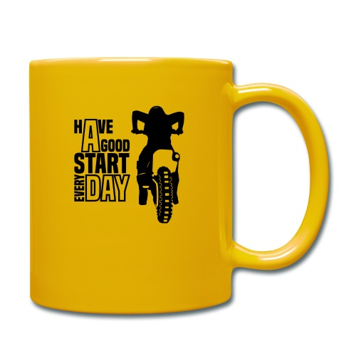 Have a good Start MX (HQ) - Tasse einfarbig