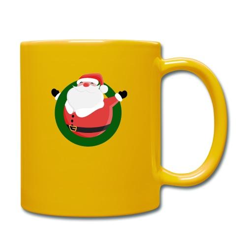 Dagar Till Jul - Enfärgad mugg