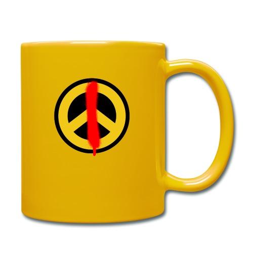 Love & Peace - Tasse einfarbig