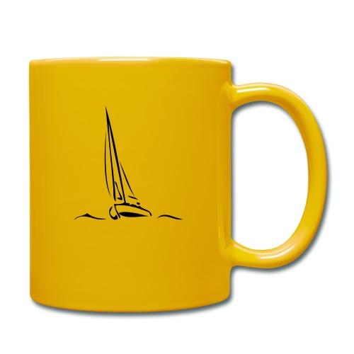 Segelboot - Tasse einfarbig