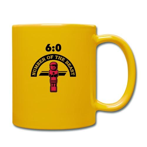 6:0 Number of the beast | KickerShirt - Tasse einfarbig
