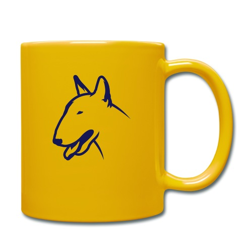Bullterrier BULLY HEAD 1c_4light - Tasse einfarbig