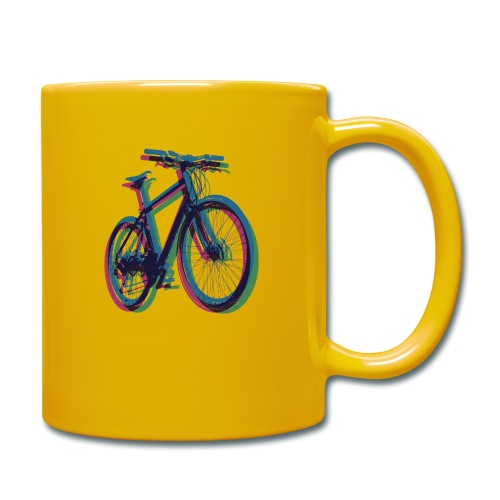 Bike Fahrrad bicycle Outdoor Fun Mountainbike - Full Colour Mug