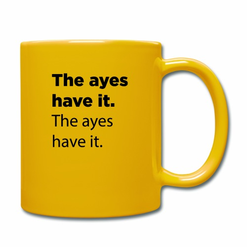 The ayes have it - Full Colour Mug