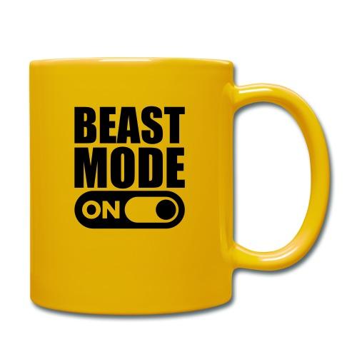 BEAST MODE ON - Full Colour Mug