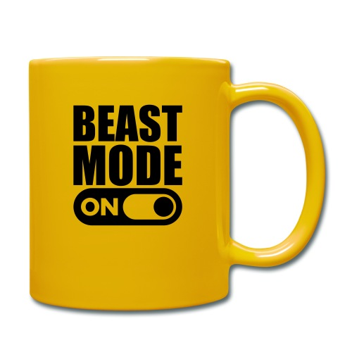 BEAST MODE ON - Full Colour Mug