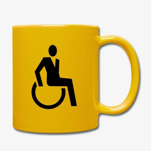 Sjieke rolstoel gebruiker symbool - Mok uni