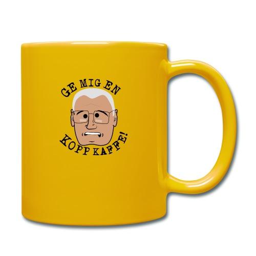 Lennart ge mig en kopp kaffe3500x4602 png - Enfärgad mugg