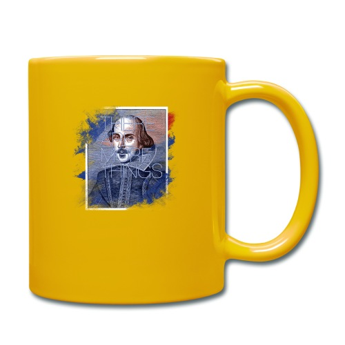 Shakespeare - Tasse einfarbig