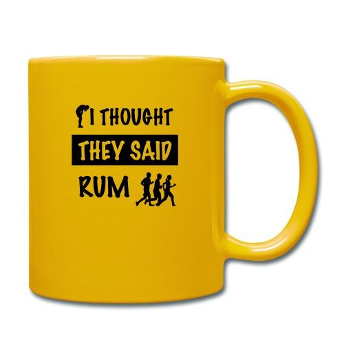 i thought they said rum - Mok uni