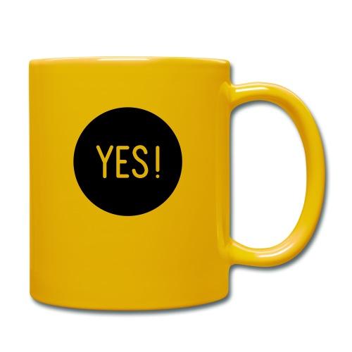 YES! - Tasse einfarbig
