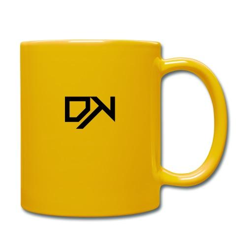 DewKee Logo T-Shirt Black - Full Colour Mug