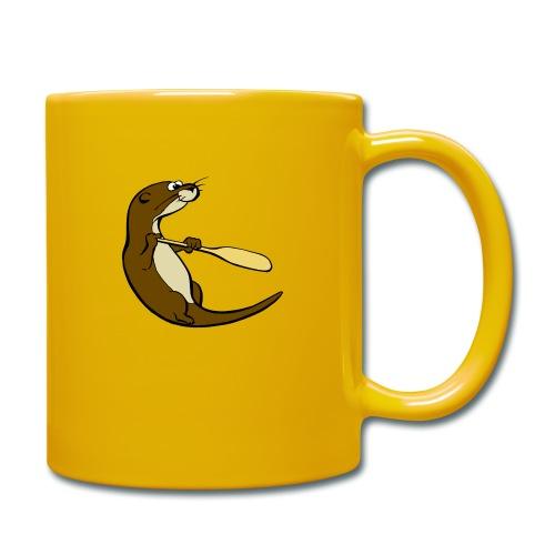 Classic Song of the Paddle otter logo - Full Colour Mug