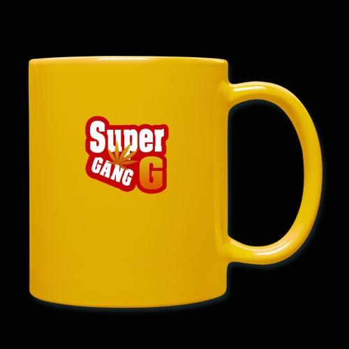 SuperG-Gang - Ensfarvet krus