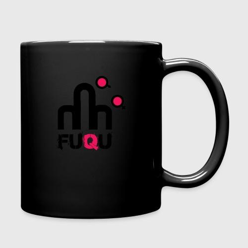 T-shirt FUQU logo colore nero - Tazza monocolore