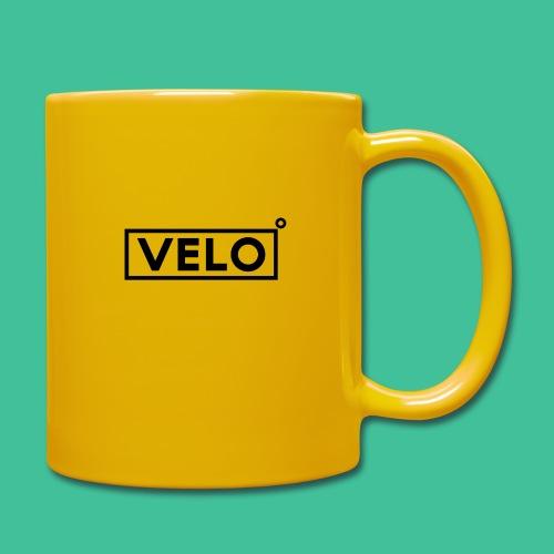 Velo Icon Blk - Long Sleeve Baseball Shirt W/N Clr - Full Colour Mug