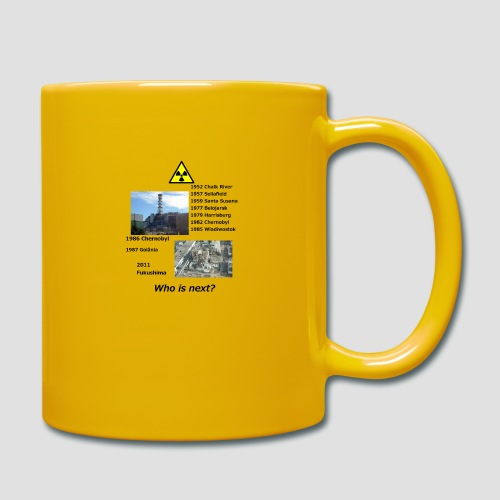 no nuclear button Who is next? - Full Colour Mug