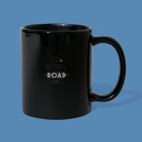 Moto - Life is better on the road - Mug uni