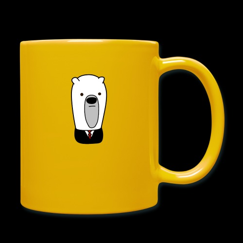 officel_polarbear_shop_logo - Ensfarvet krus