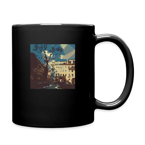 Abstrakt Budapest - Tasse einfarbig