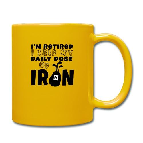 Retired Golfer - Full Colour Mug