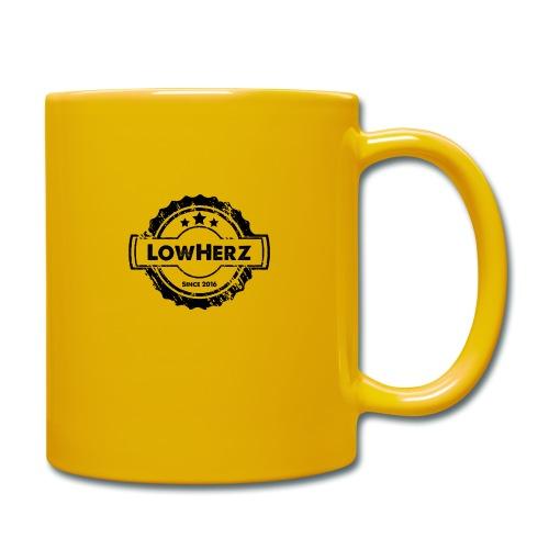 LowHerz - Tasse einfarbig