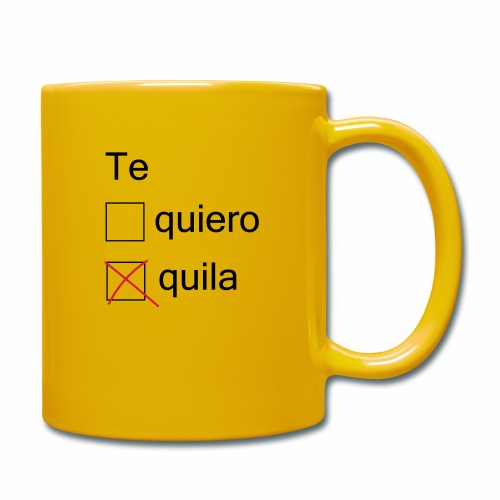 tequila - Mug uni
