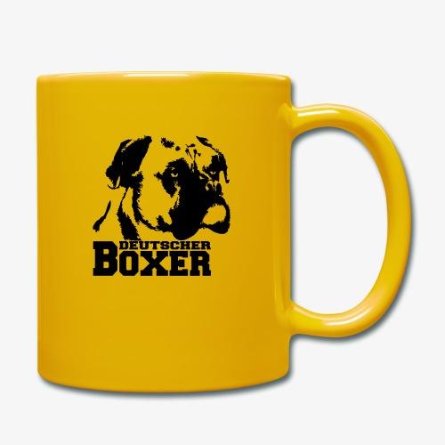 Deutscher Boxer - Tasse einfarbig
