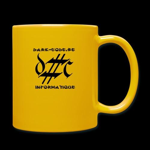 Dark-Code Black Gothic Logo - Mug uni