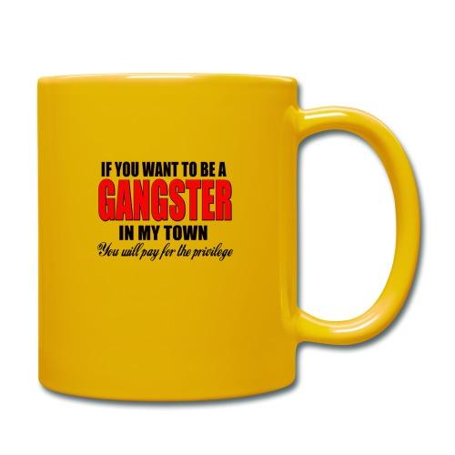 ville gangster - Mug uni