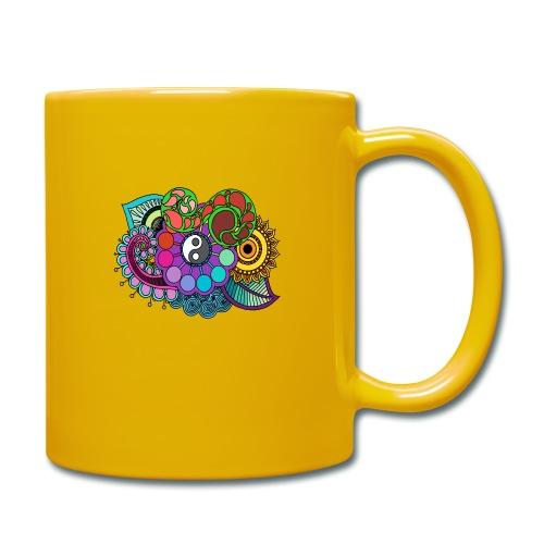 Coloured Nature Mandala - Full Colour Mug
