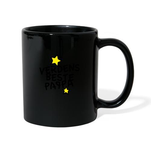 Verdens beste pappa - Ensfarget kopp