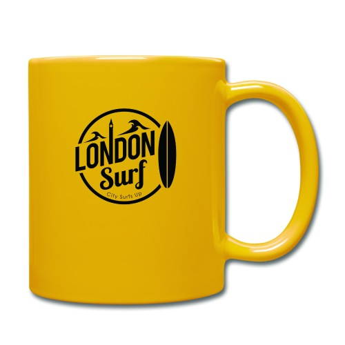 London Surf - Black - Full Colour Mug