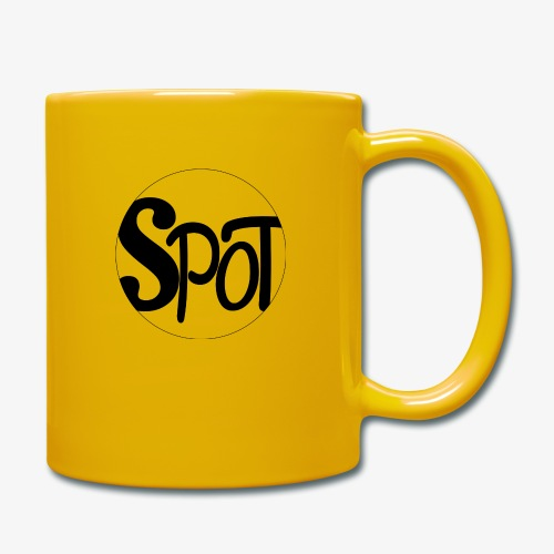 spotCircle Black White - Full Colour Mug