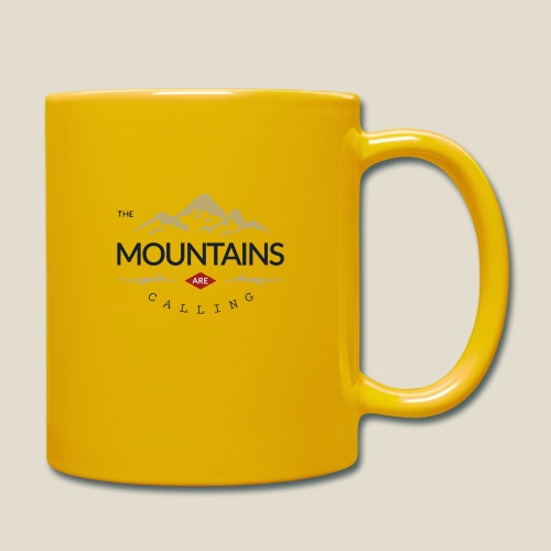 Outdoor mountain - Mug uni