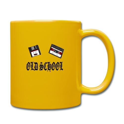 Old School Design - Tasse einfarbig