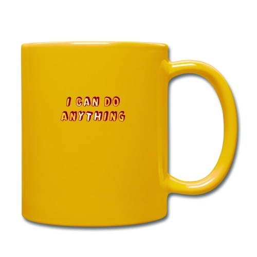 I can do anything - Full Colour Mug