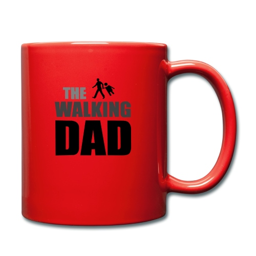 the walking dad auf dem Weg in die lustige Bar - Tasse einfarbig