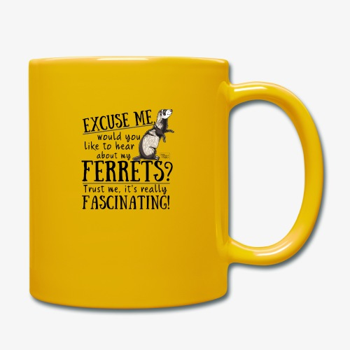 Excuse my Ferrets II - Yksivärinen muki