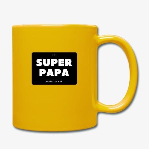 Elu super papa pour la vie - Mug uni