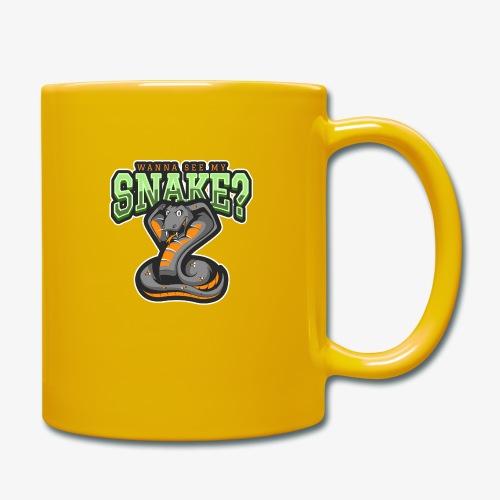 Wanna see my Snake III - Yksivärinen muki