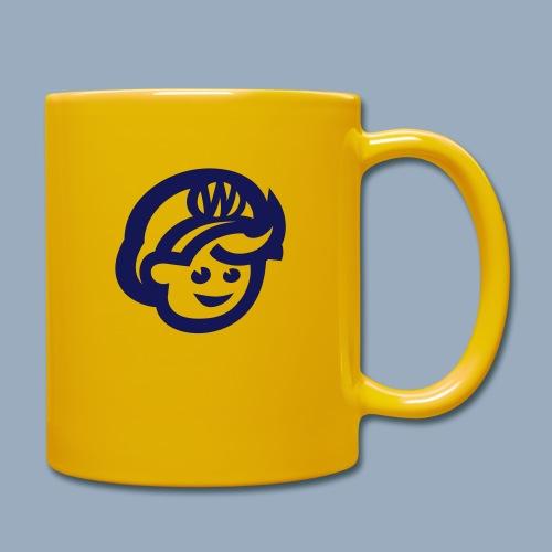 logo bb spreadshirt bb kopfonly - Full Colour Mug
