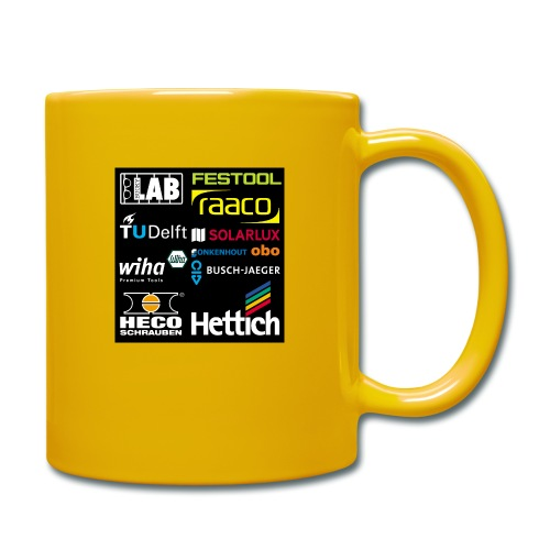 tshirt 2 rueck kopie - Full Colour Mug