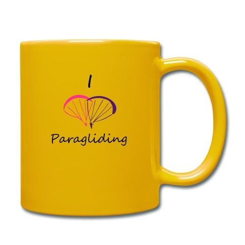 I Love Paragliding V2 - Full Colour Mug