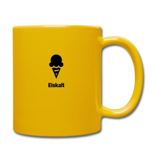 Eiskalt - Tasse einfarbig