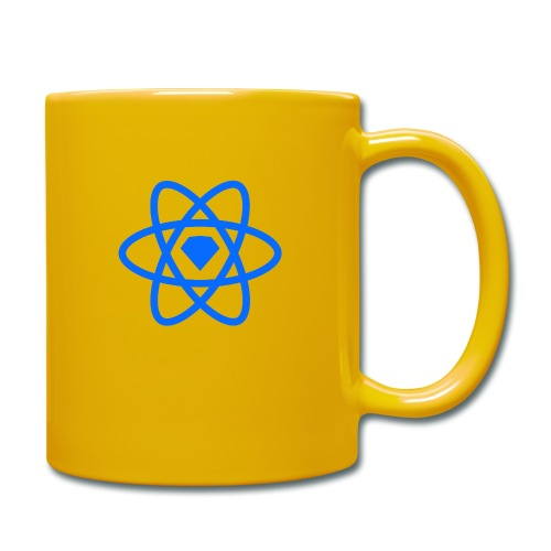 Sketch2React Logo Blue - Enfärgad mugg