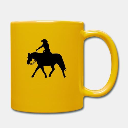 Ranch Riding extendet Trot - Tasse einfarbig