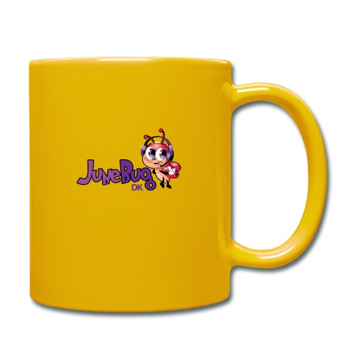 JuneBugDK - Ensfarvet krus